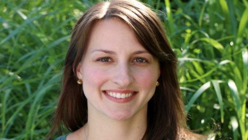Julie Kleber '11BSN, RN, BMTCN, oncology nurse at the Memorial Sloan Kettering Cancer Center.
